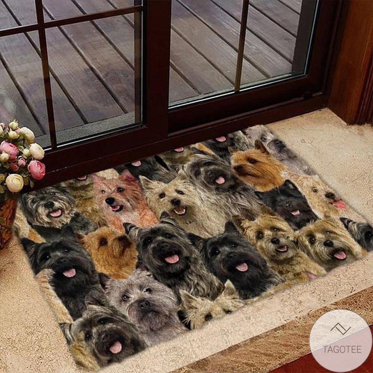 Adult A Bunch Of Cairn Terriers Doormat