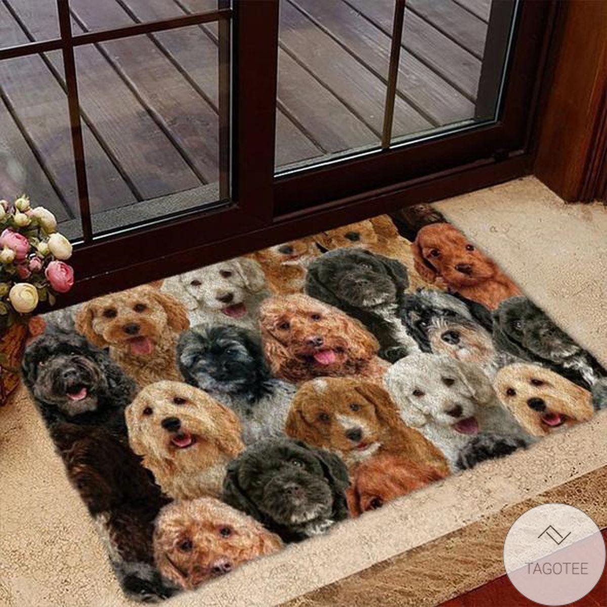 A Bunch Of Cockapoos Doormat