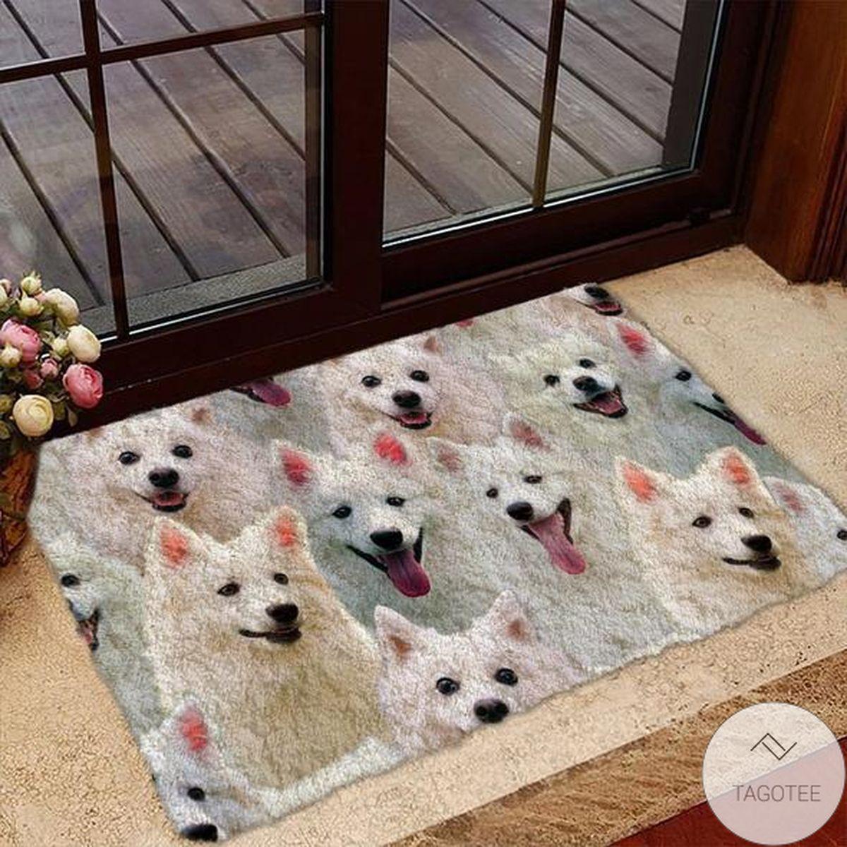 A Bunch Of Eskimos Doormat