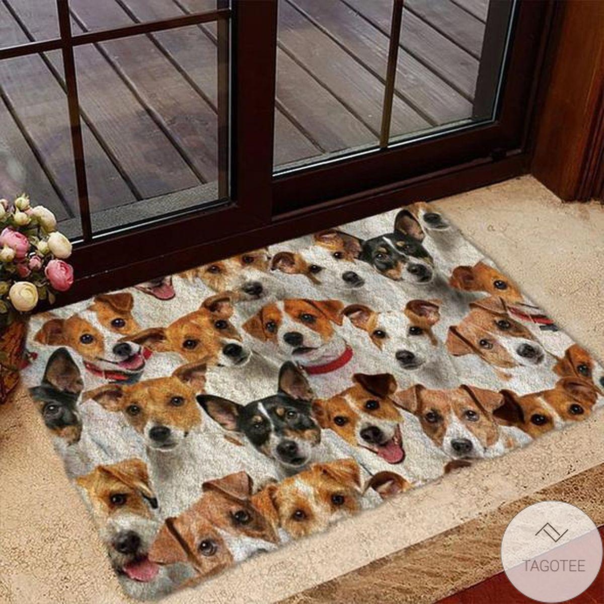 POD A Bunch Of Jack Russell Terriers Doormat