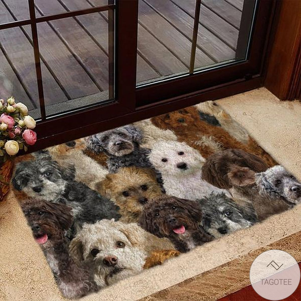 Luxury A Bunch Of Schnoodles Doormat
