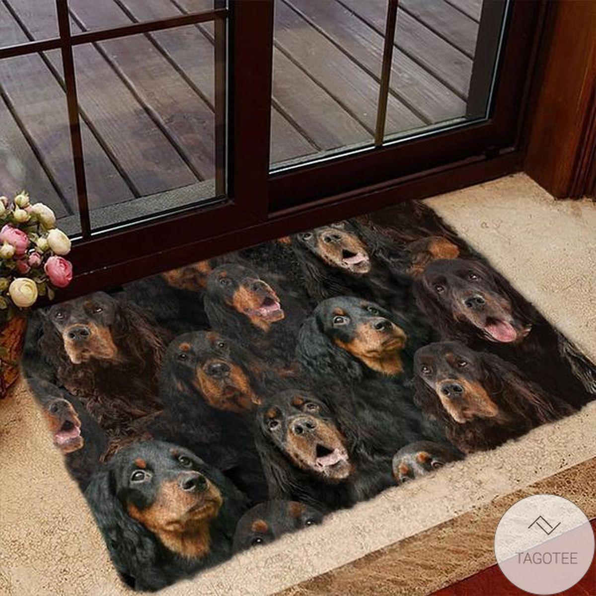 A Bunch Of gordon setter Doormat