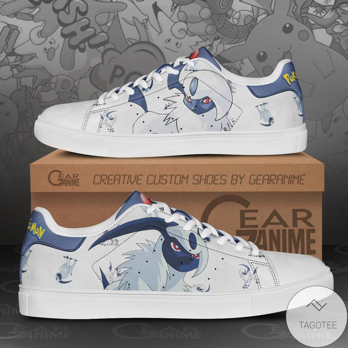 Absol Pokemon Stan Smith Shoes