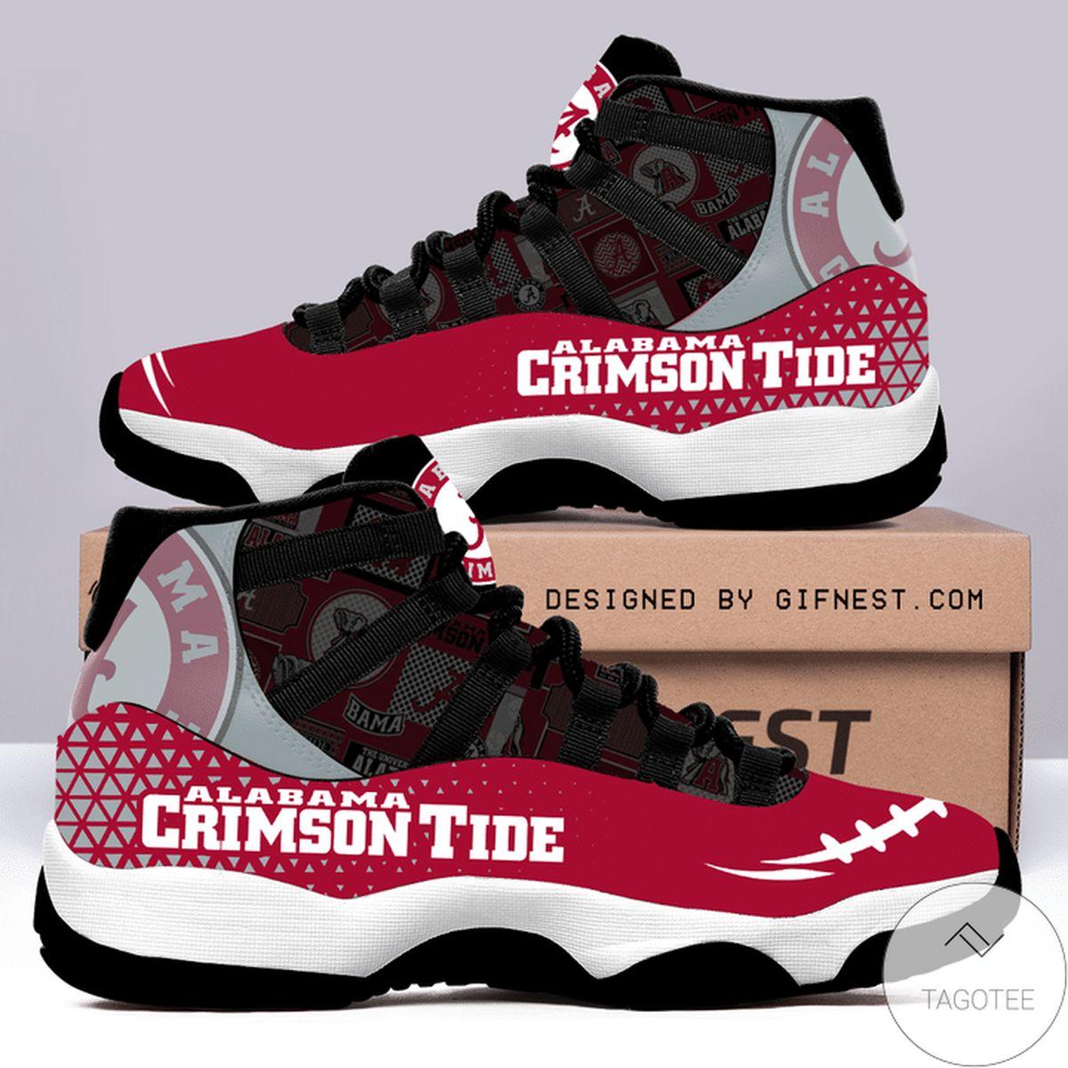 Alabama Crimson Tide Air Jordan 11 Shoes
