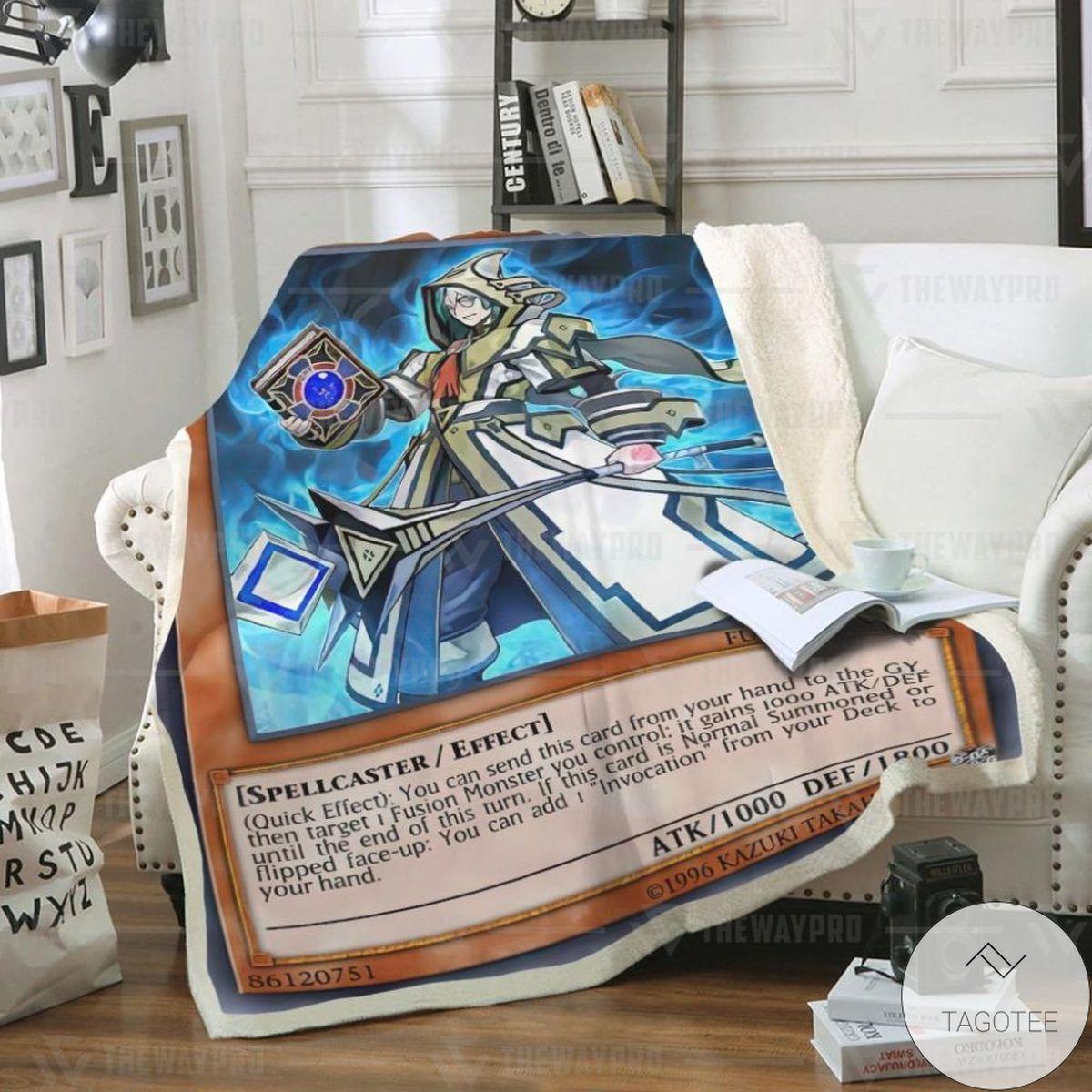 Aleister The Invoker Custom Blanket