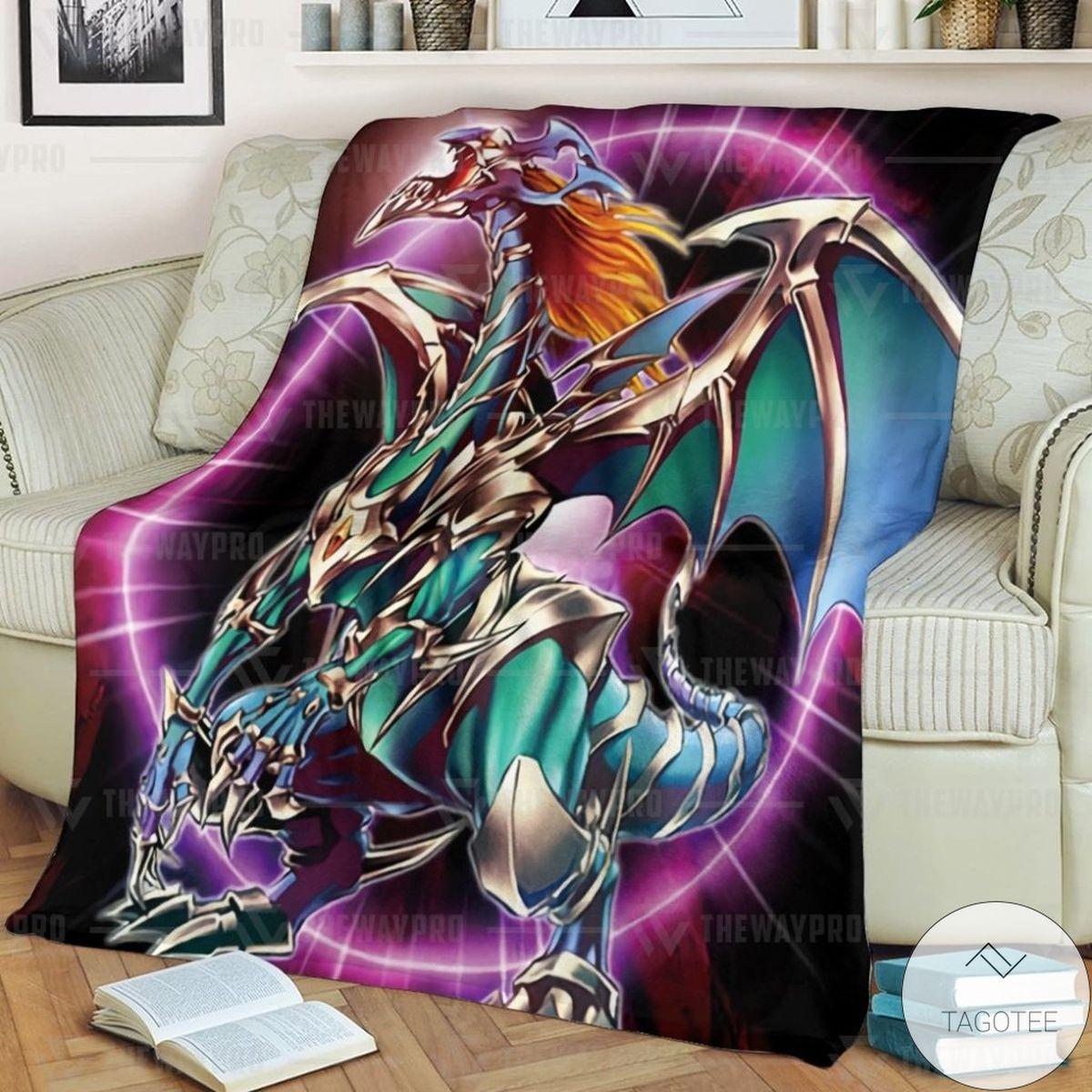 Anime YUGIOH Chaos Emperor Dragon Envoy Of The End Custom Blanket