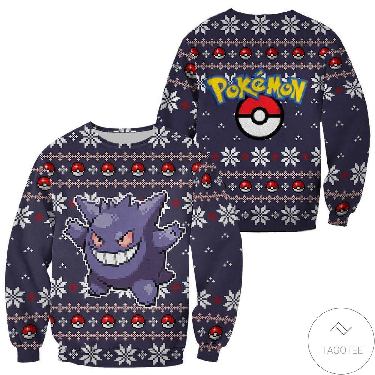 Buy In US Arcanine Pokemon Anime Ugly Christmas Sweater