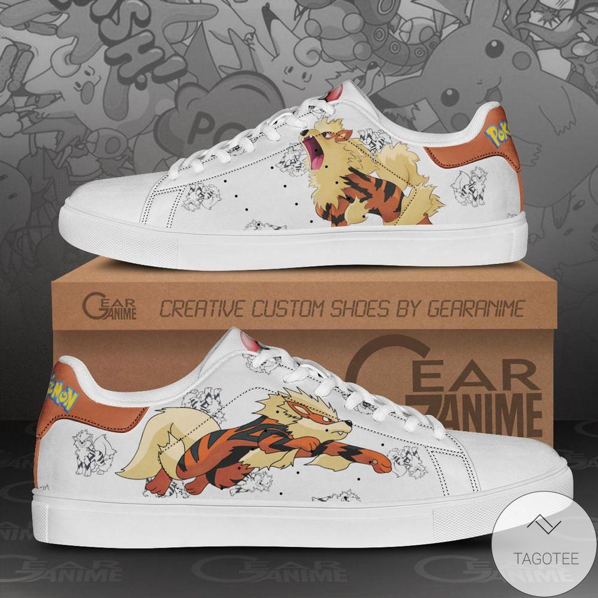 Arcanine Pokemon Stan Smith Shoes