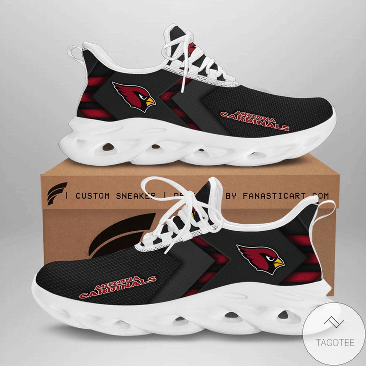 Drop Shipping Arizona Cardinal Max Soul Shoes