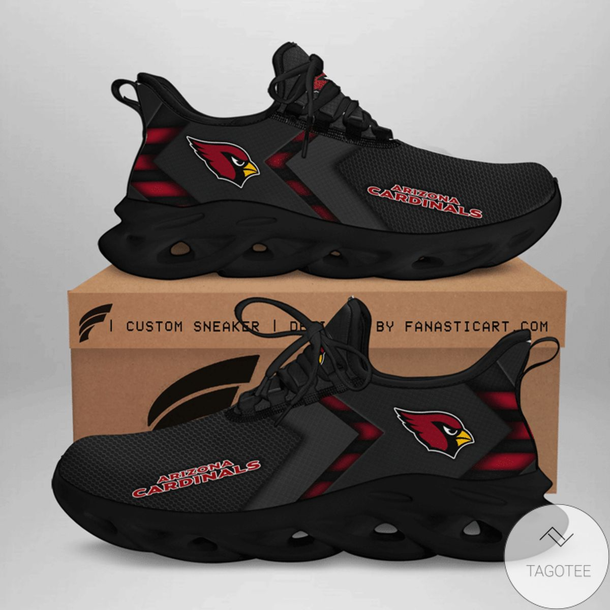 Arizona Cardinal Max Soul Shoes