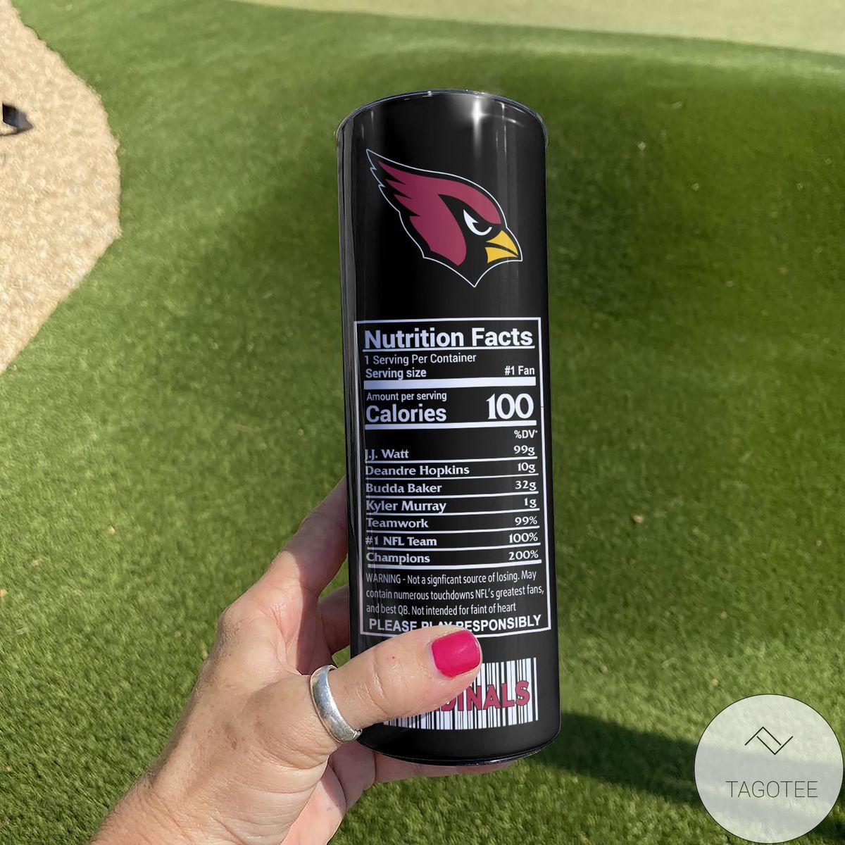 Us Store Arizona Cardinals Monster Energy Skinny Tumbler