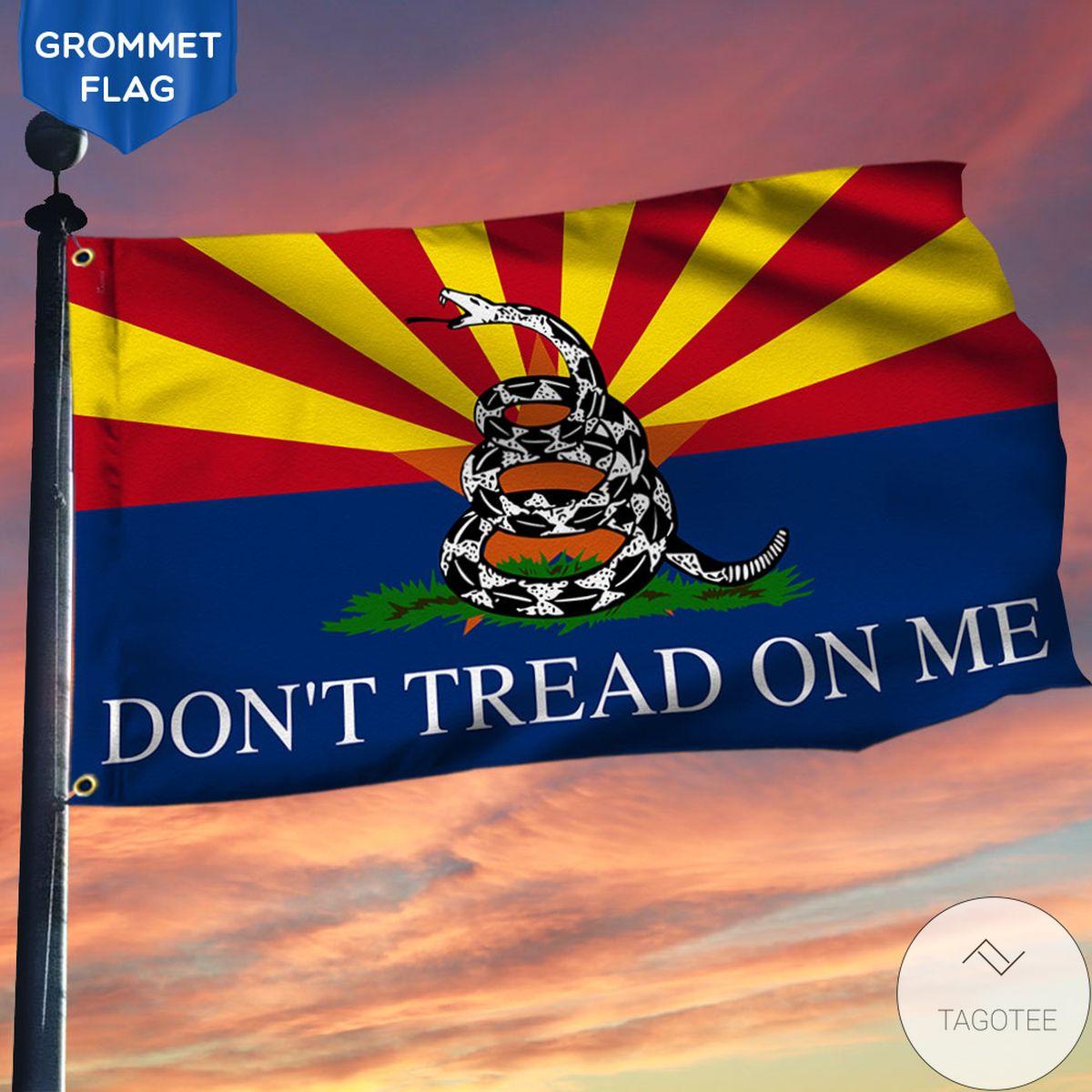 Arizona Grommet Flag Gadsden Don't Tread On Me Flag
