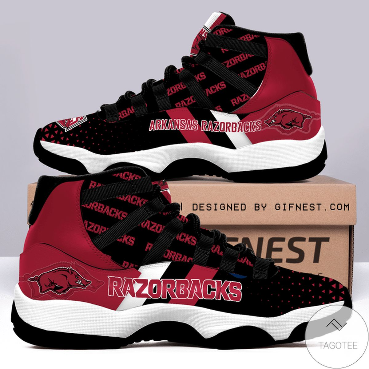 Arkansas Razorbacks Air Jordan 11 Shoes