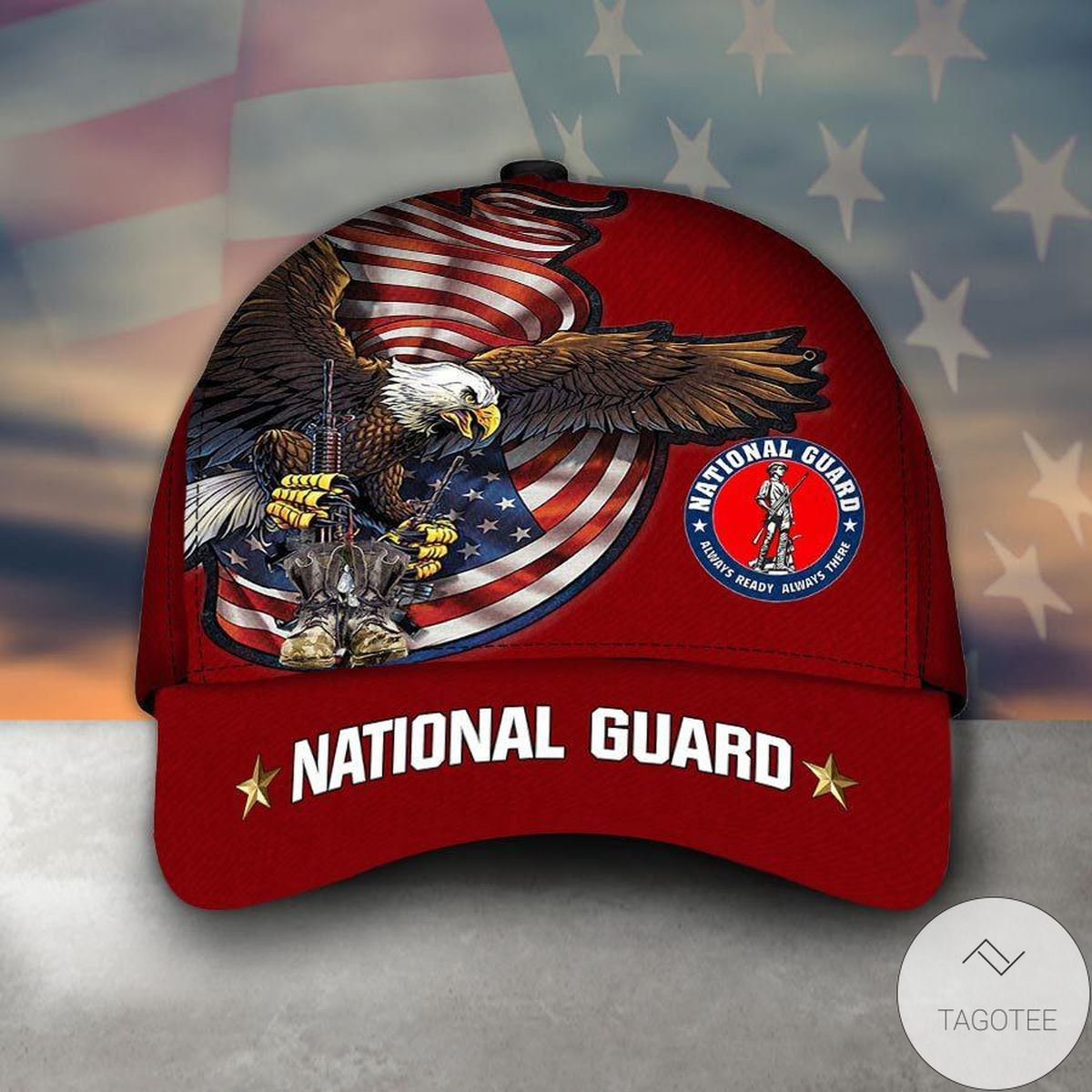 Amazing Armed Forces National Guard Veteran Military Soldier Cap