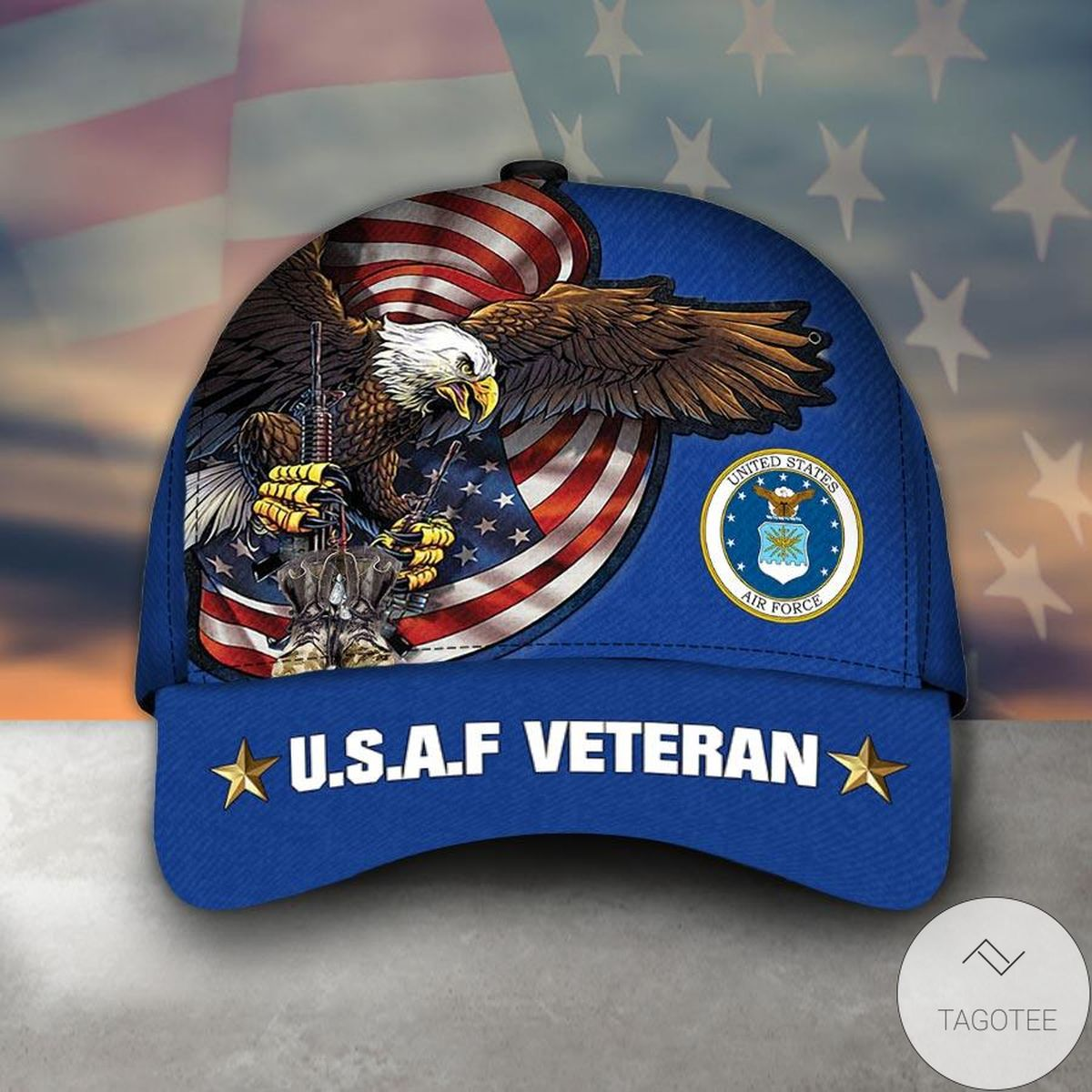 Buy In US Armed Forces Usaf Air Forces Veteran Military Soldier Cap