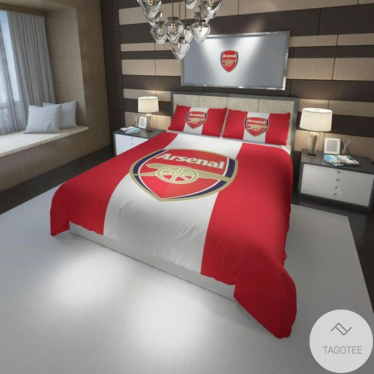 Arsenal Fc Football Club Bedding Set