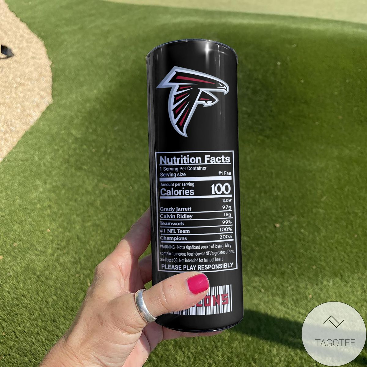 Father's Day Gift Atlanta Falcons Monster Energy Skinny Tumbler