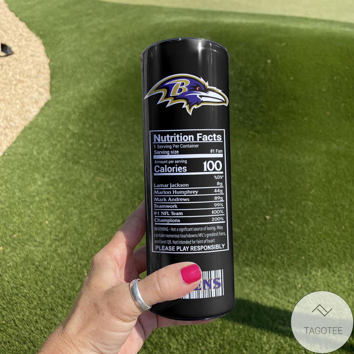 Rating Baltimore Ravens Monster Energy Skinny Tumbler