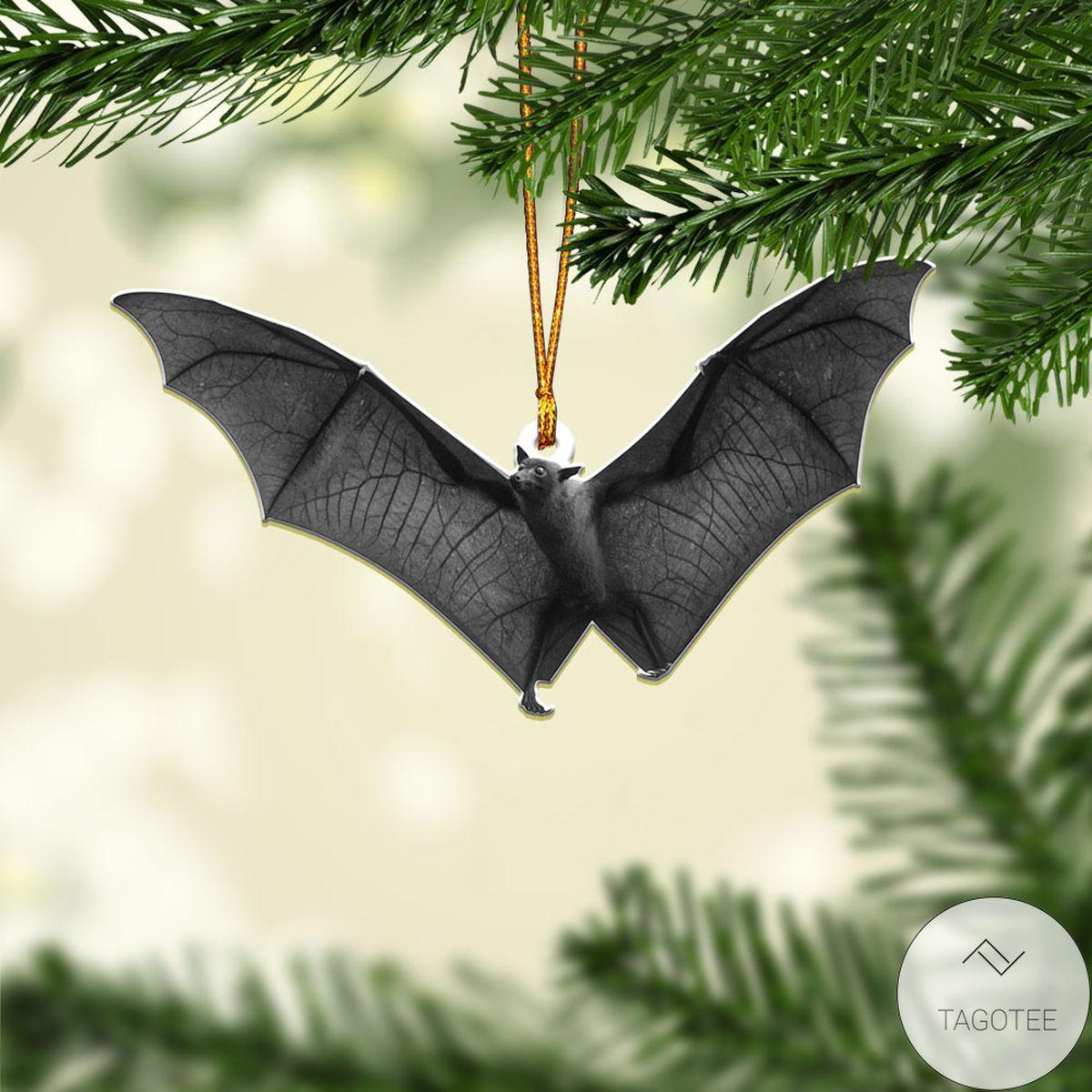 Mother's Day Gift Black Bat Halloween Ornament