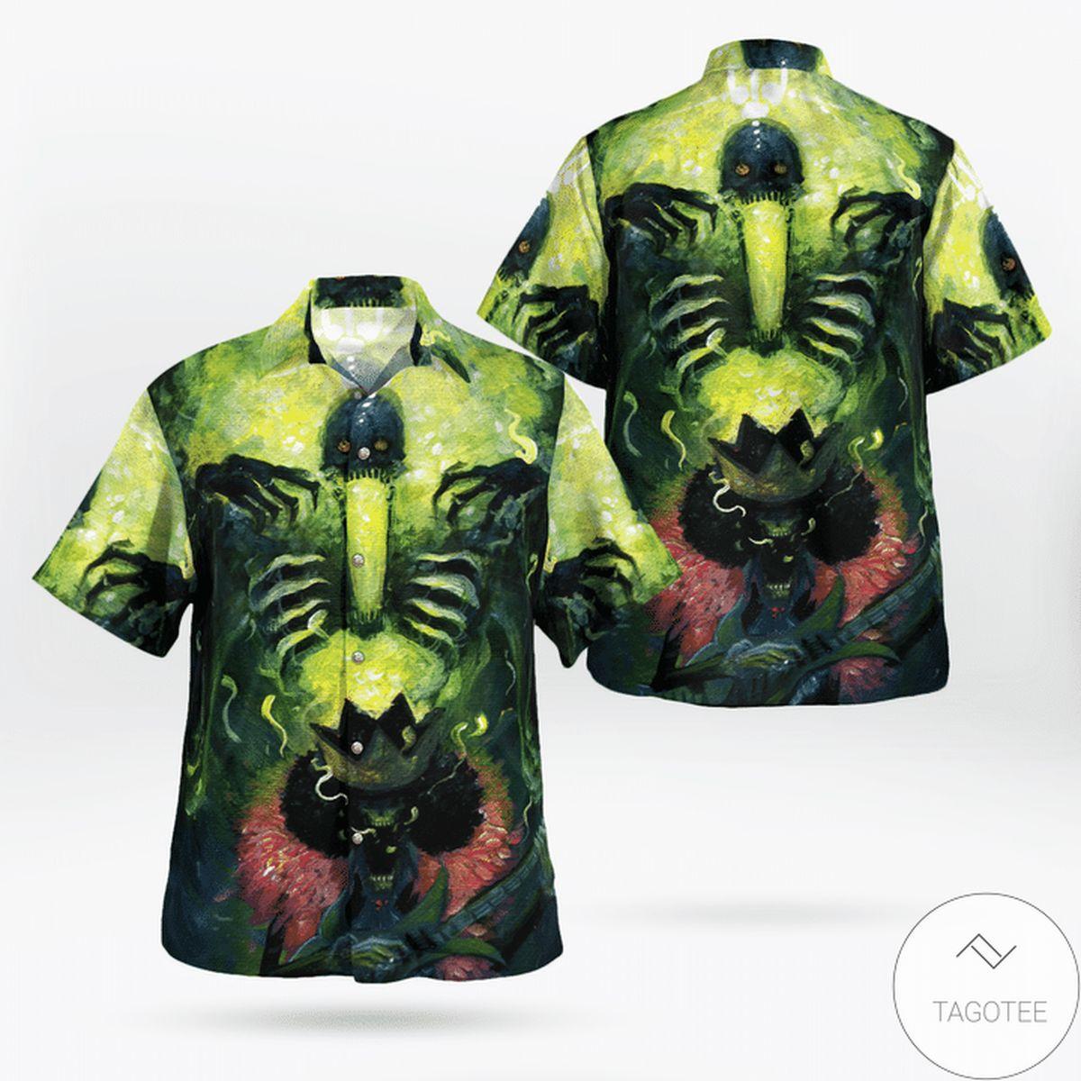 Rating Brook Soul King One Piece Hawaiian Shirt