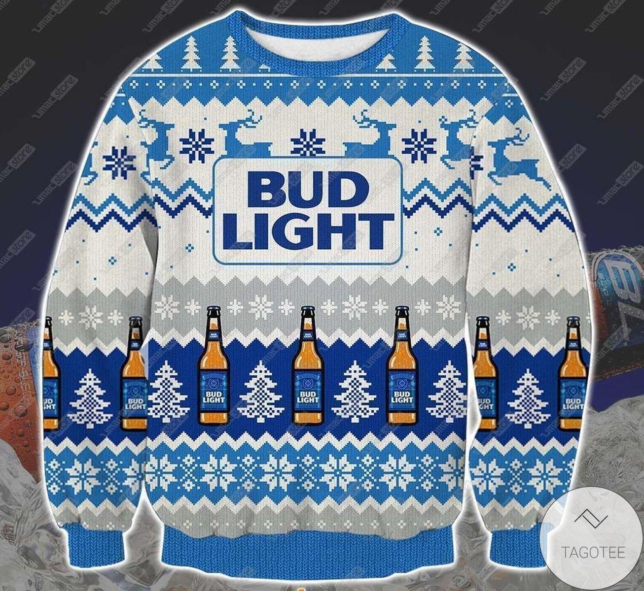 Bud Light Ugly Christmas Sweater