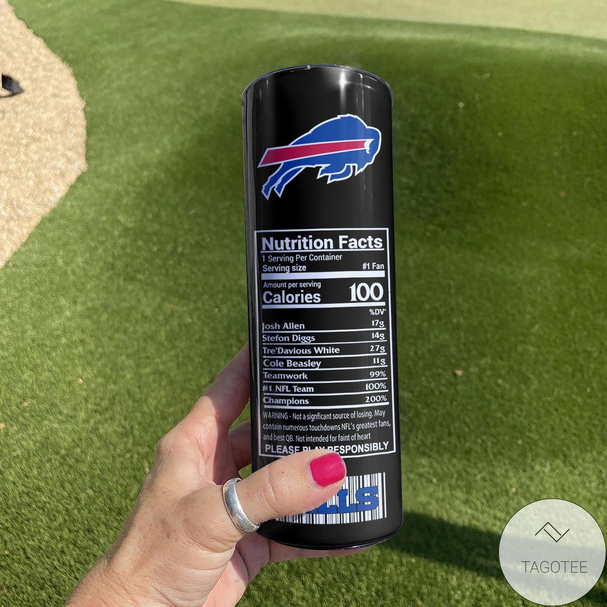 Absolutely Love Buffalo Bills Monster Energy Skinny Tumbler
