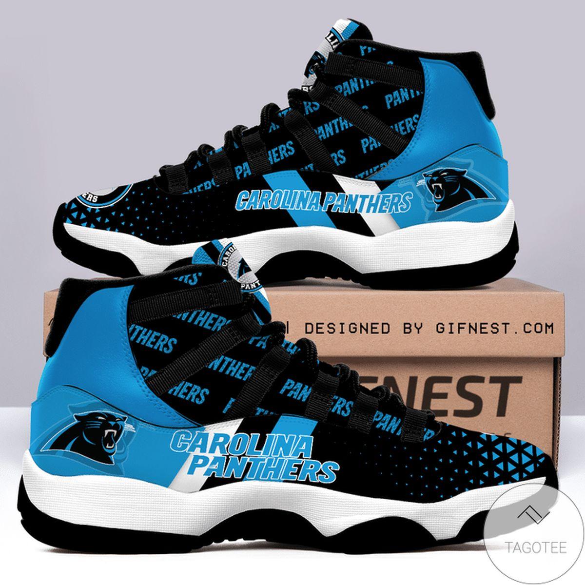 Popular Carolina Panthers Air Jordan 11 Shoes
