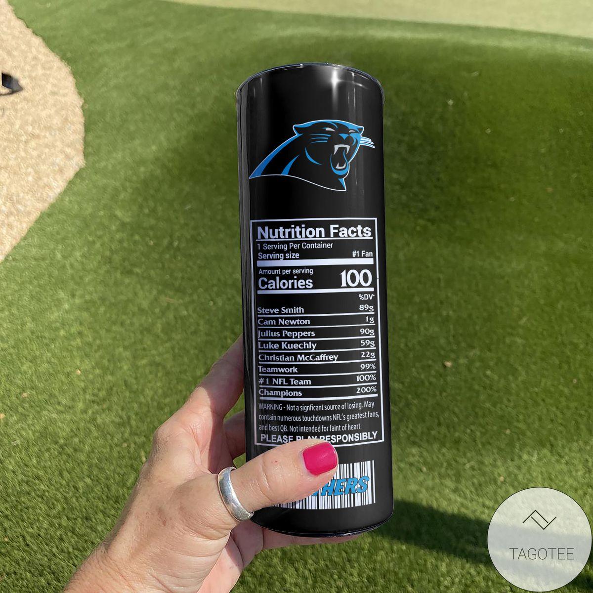 Esty Carolina Panthers Monster Energy Skinny Tumbler