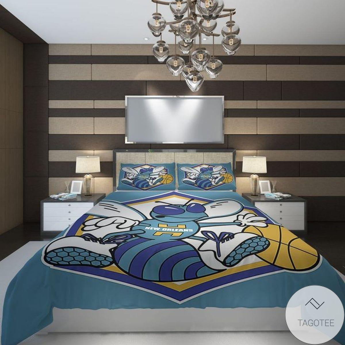 Charlotte Hornets Basketball Bedding Set
