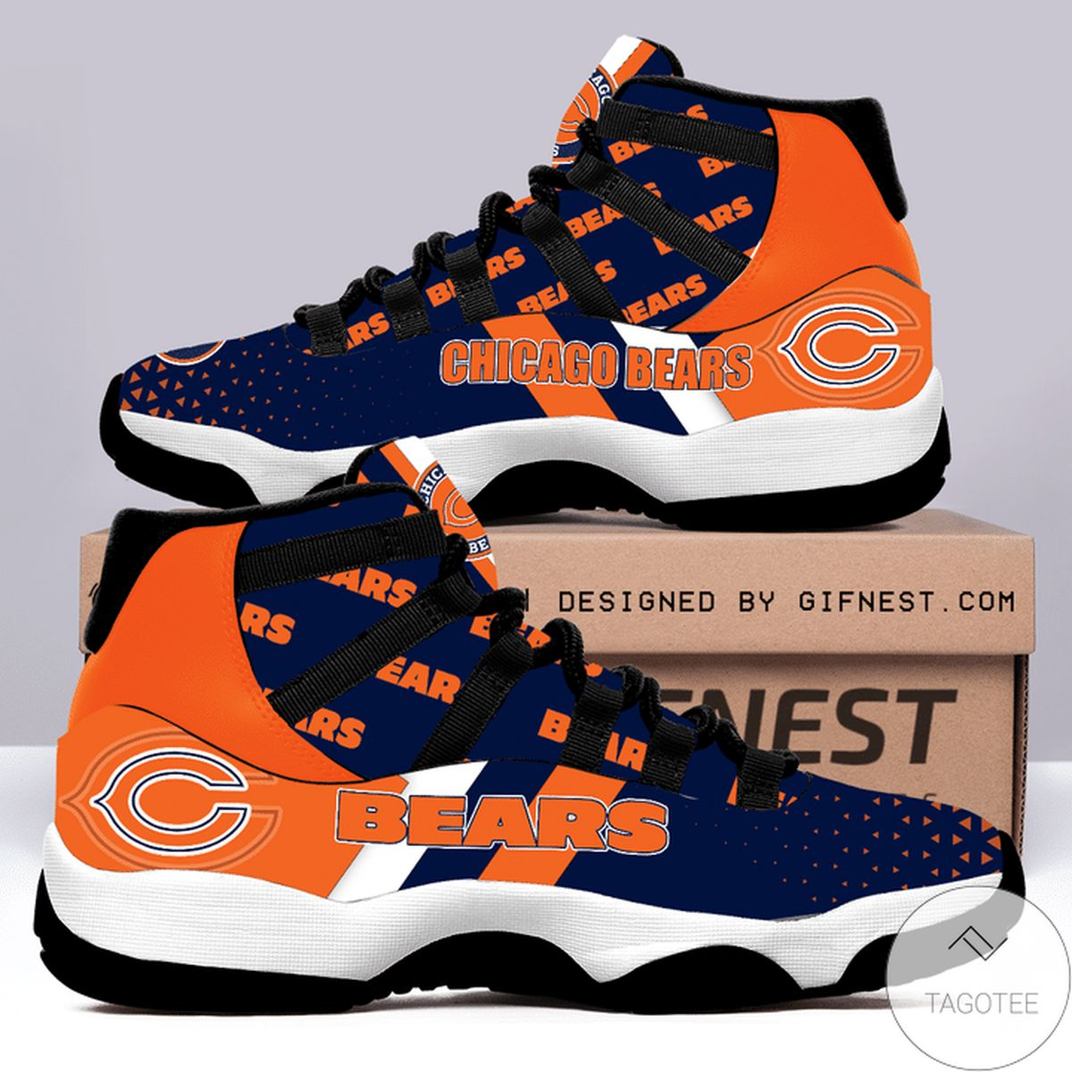 Top Selling Chicago Bears Air Jordan 11 Shoes