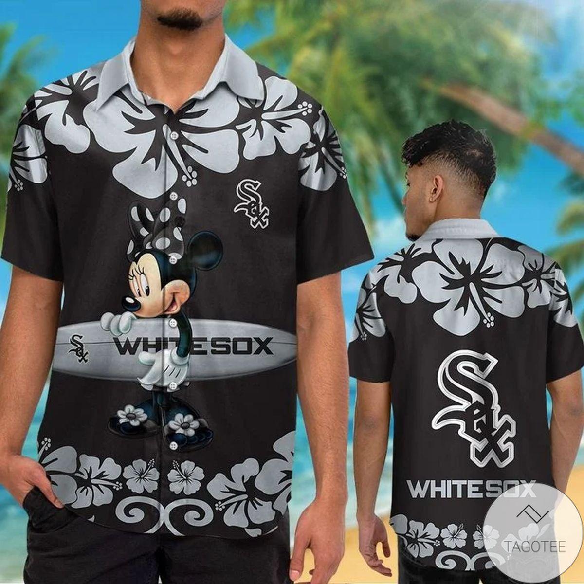 Chicago White Sox Minnie Mouse Hawaiian Shirt