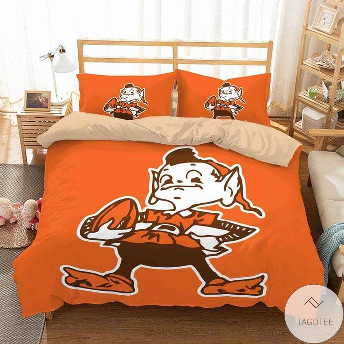 Cleveland Browns Bedding Set