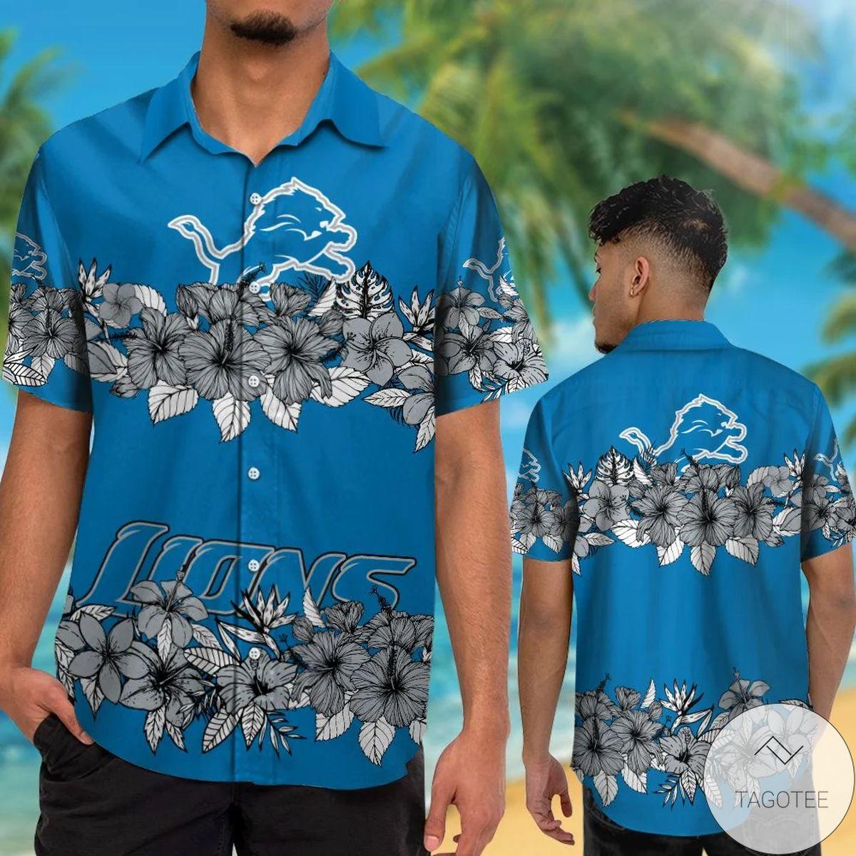 Detroit Lions Hawaiian Shirt