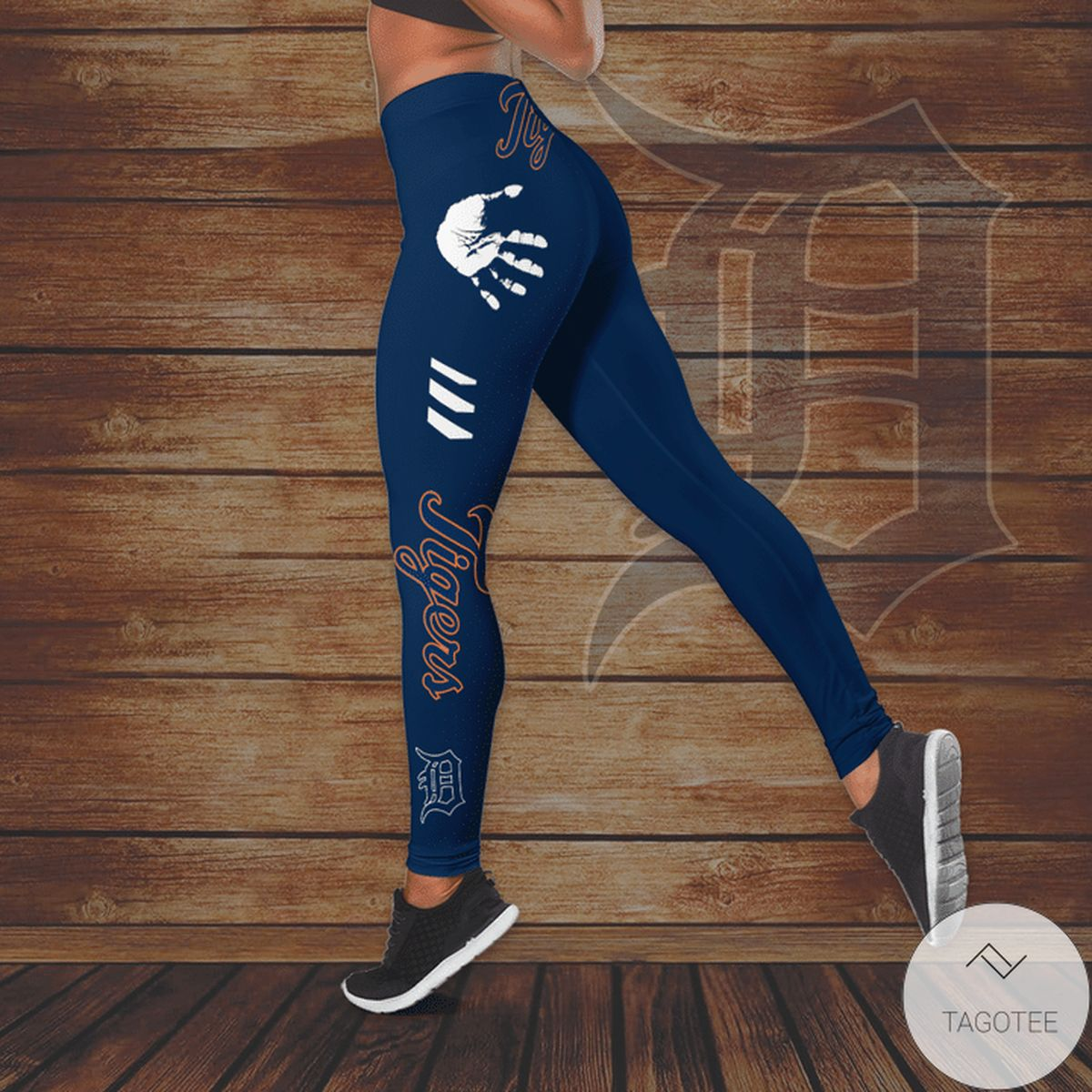 Sale Off Detroit Tigers Hallow Tank Top And Leggings