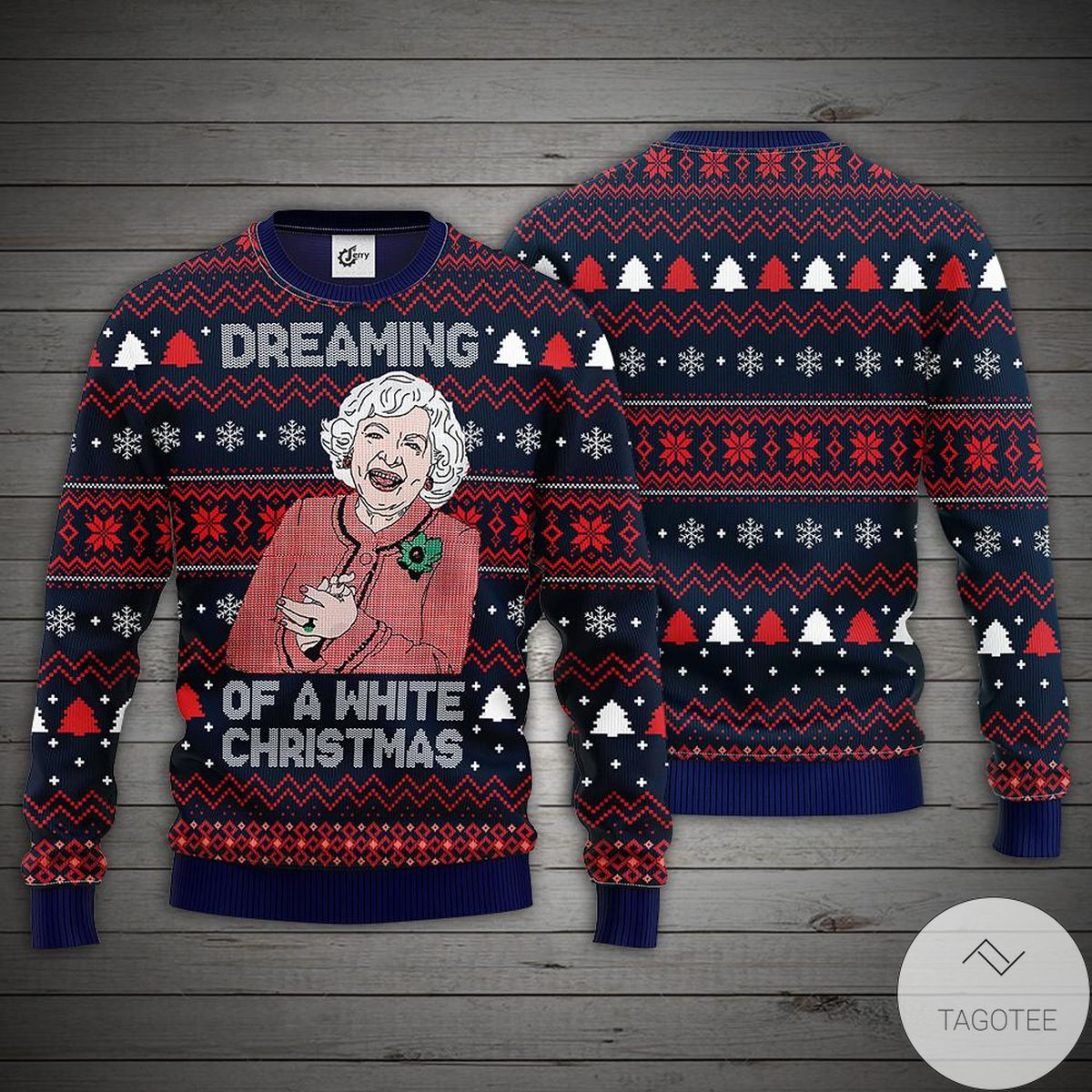 Dreaming Of A White Christmas Ugly Christmas Sweater