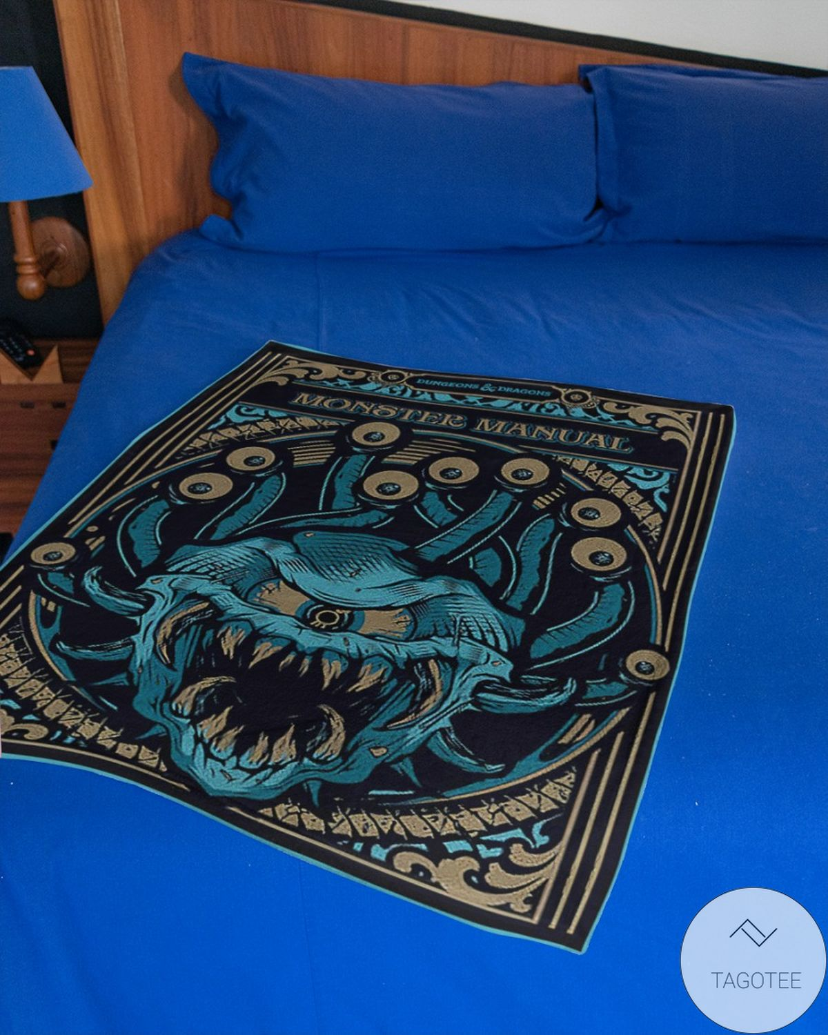 Esty Dungeons And Dragons Monster Manual Blanket