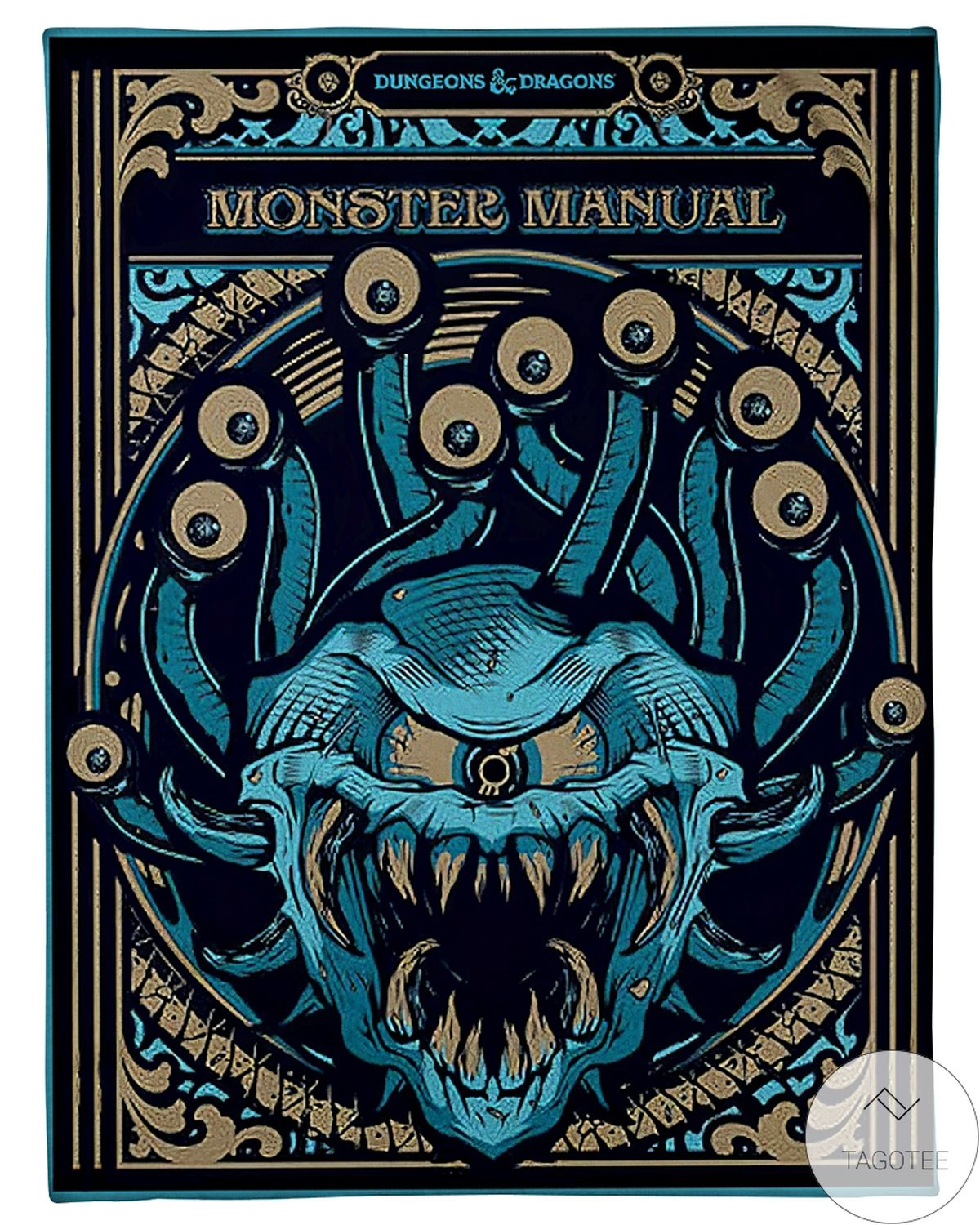 Us Store Dungeons And Dragons Monster Manual Blanket