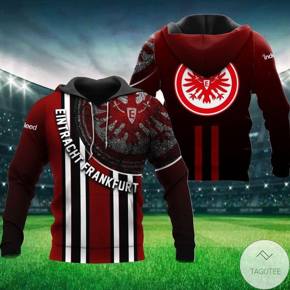 Eintracht Frankfurt Red Hoodie