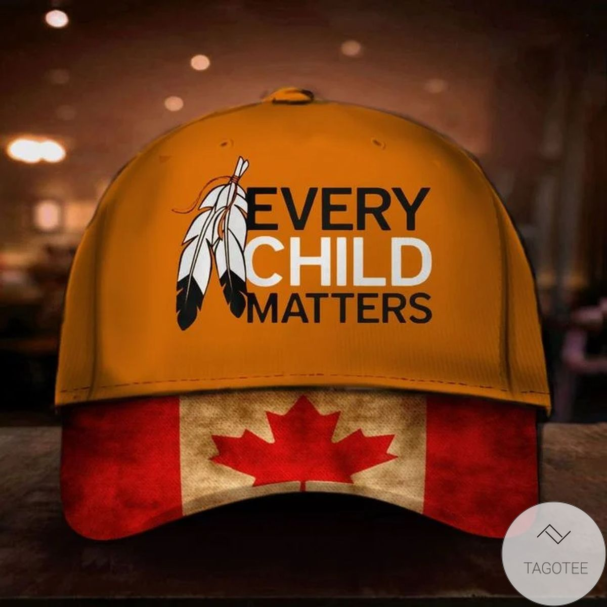 Every Child Matters Hat Canada Flag Orange Shirt Day Residential Schools