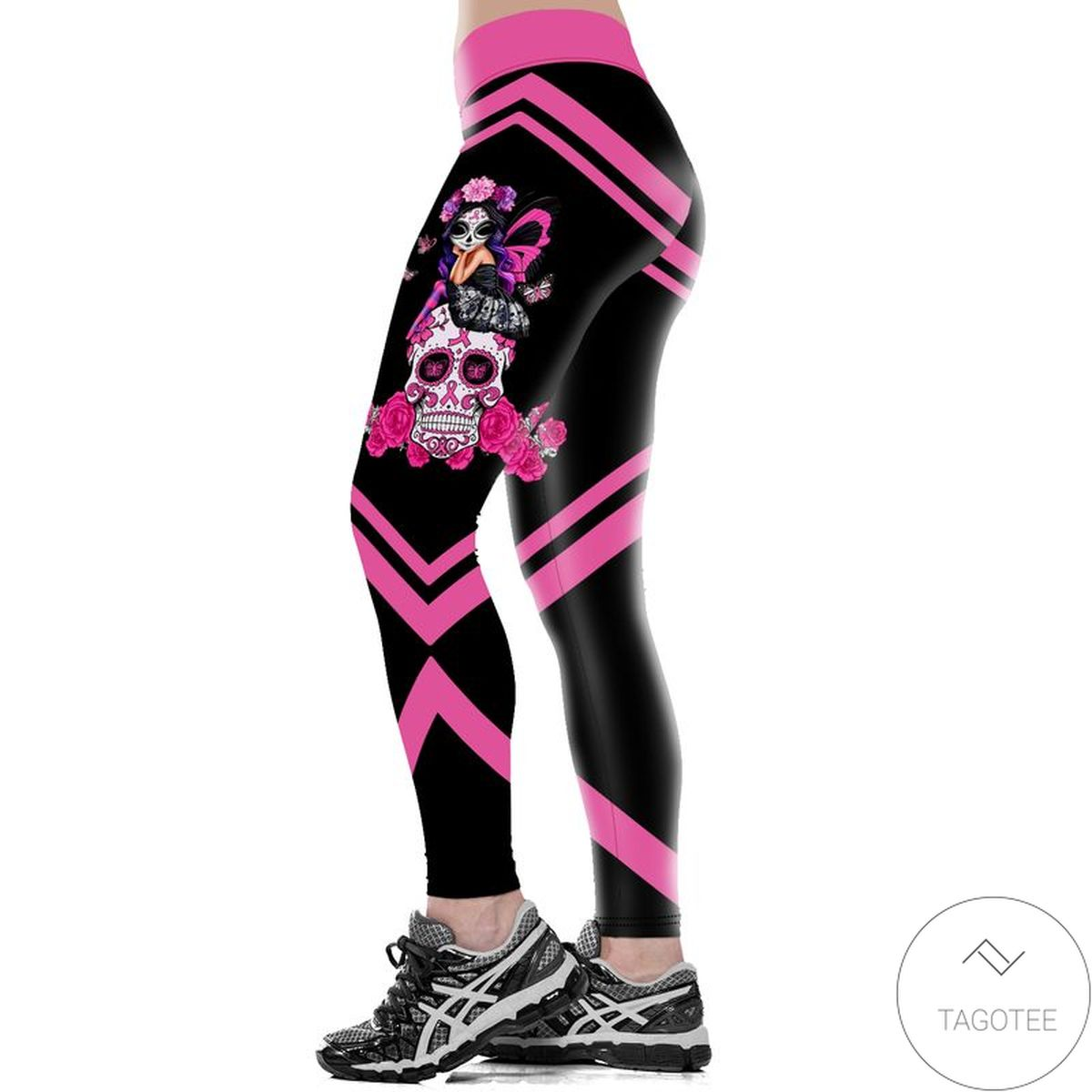 Us Store Fight Like A Girl Breast Cancer Awareness Legging