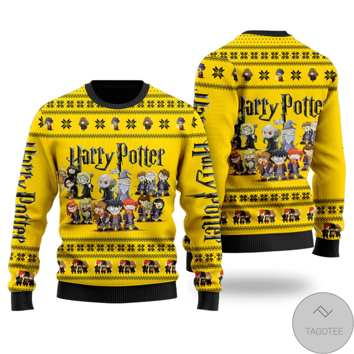 Free Harry Potter Horror Movie Characters Ugly Christmas Sweater