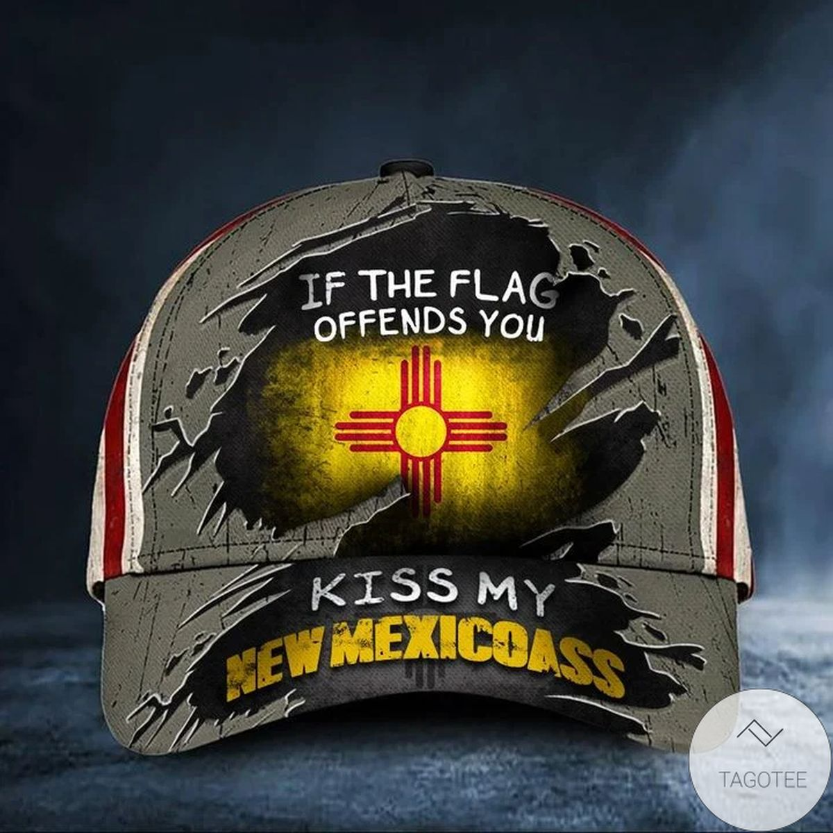Very Good Quality If The Flag Offends You Kiss My New Mexicoass Cap Vintage USA Flag Hat For Men Presents