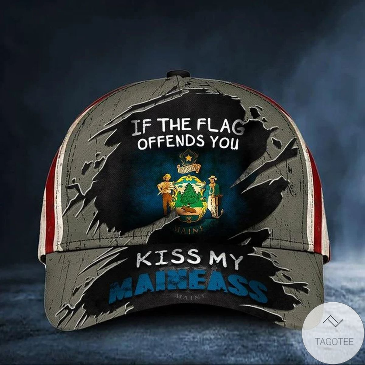 If The Flag Offends You Kiss My North Maineass Hat