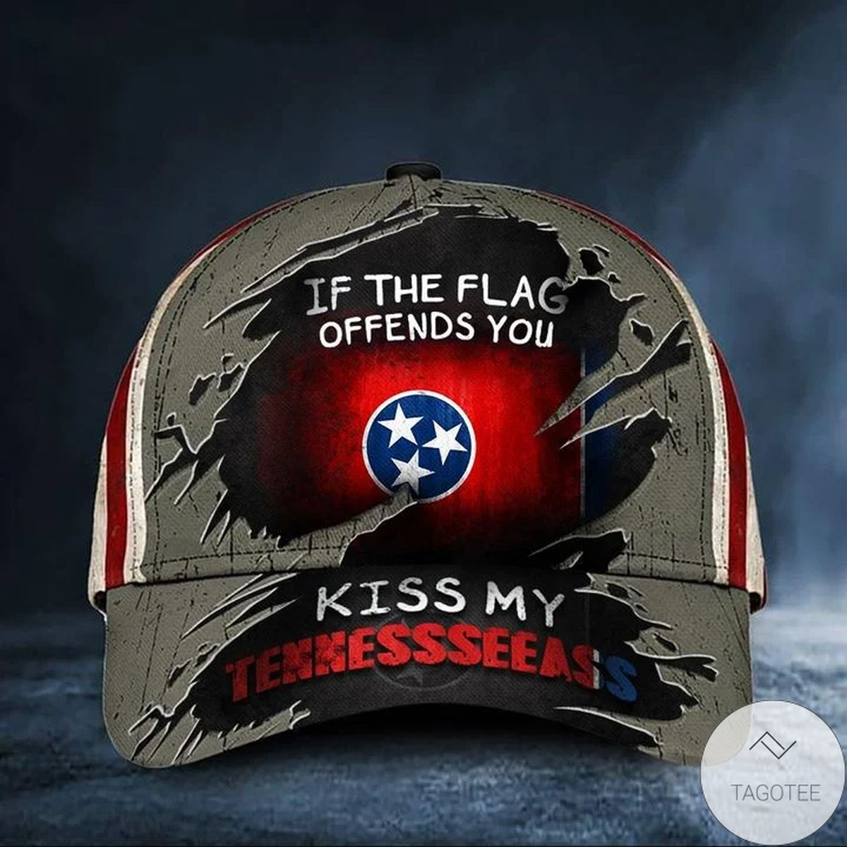 Where To Buy If The Flag Offends You Kiss My Tennesseeass Cap USA Flag Hat Tennessee Tennessee Mens Gift