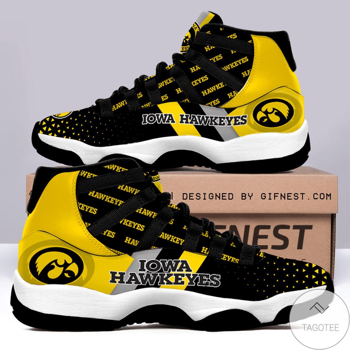 Iowa Hawkeye Air Jordan 11 Shoes