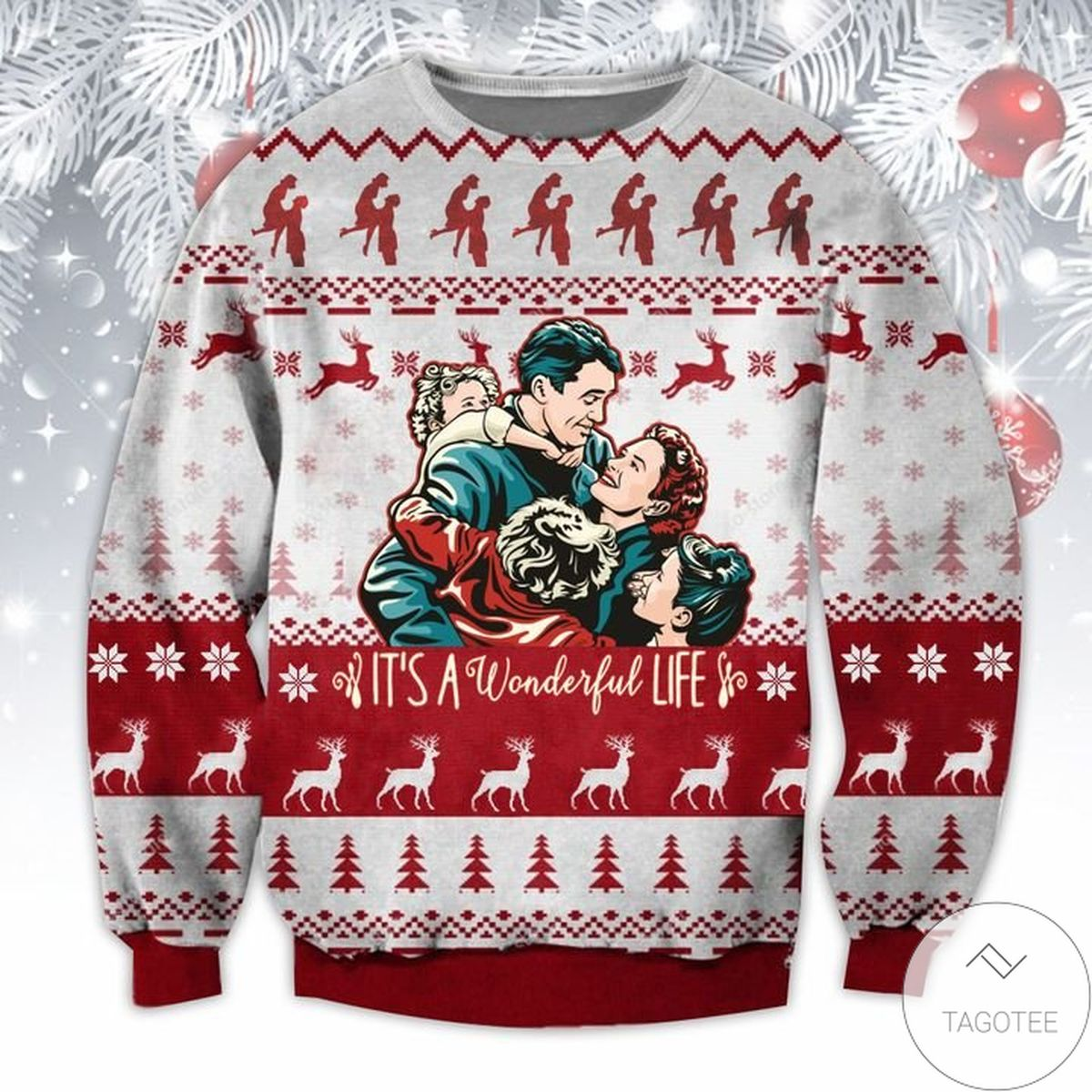 It's A Wonderful Life Ugly Christmas Sweater