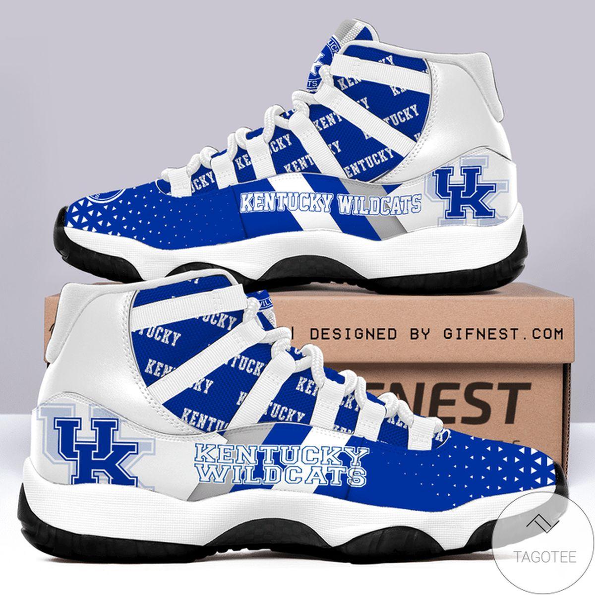 Present Kentucky Wildcats Air Jordan 11 Shoes