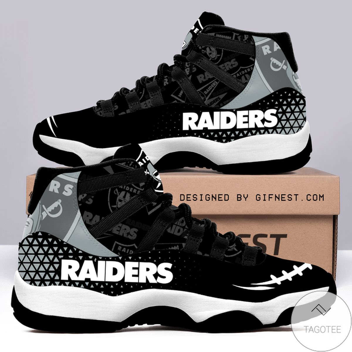 Las Vegas Raiders Air Jordan 11 Shoes