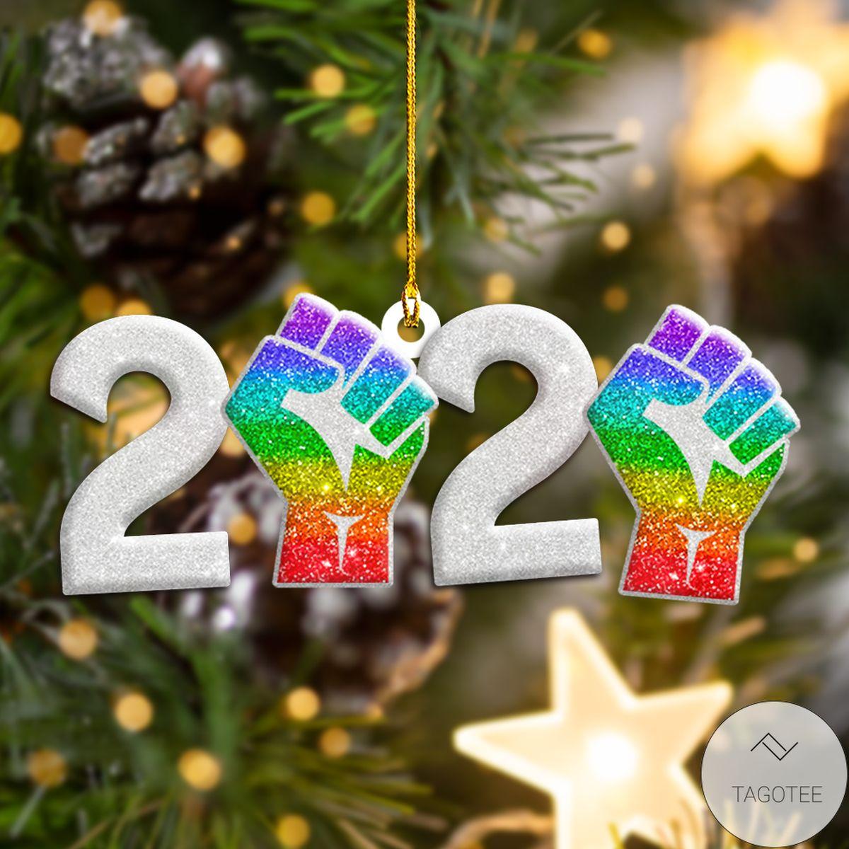 Lgbt 2020 Shape Ornament