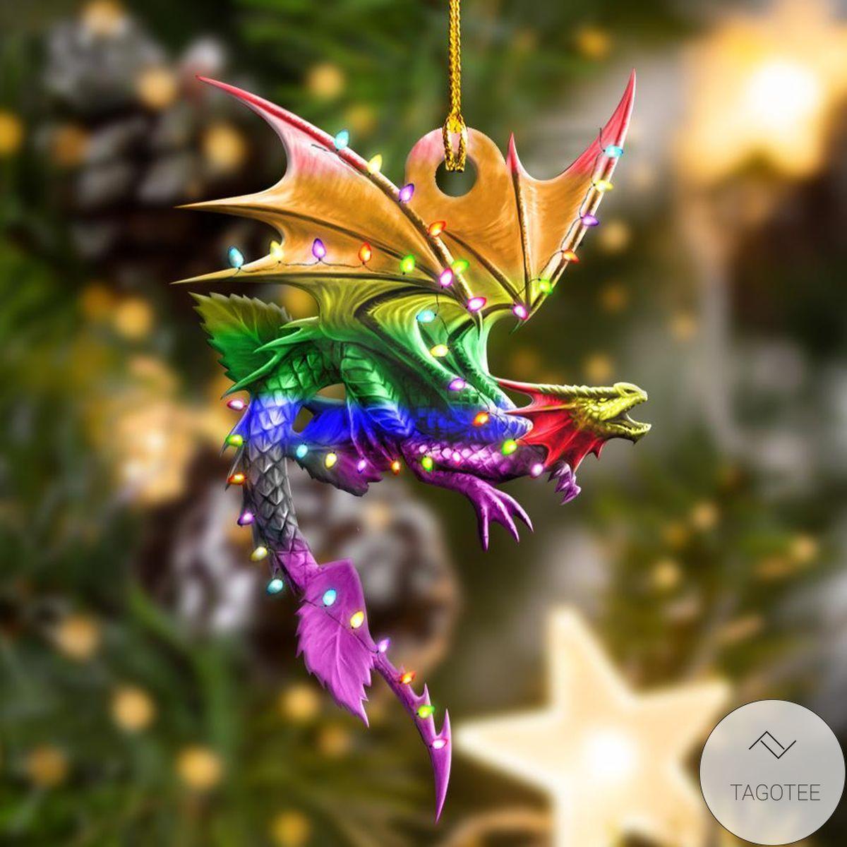 Lgbt Toothless Dragon Ornament